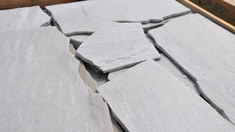 Brasil White Flagstones.