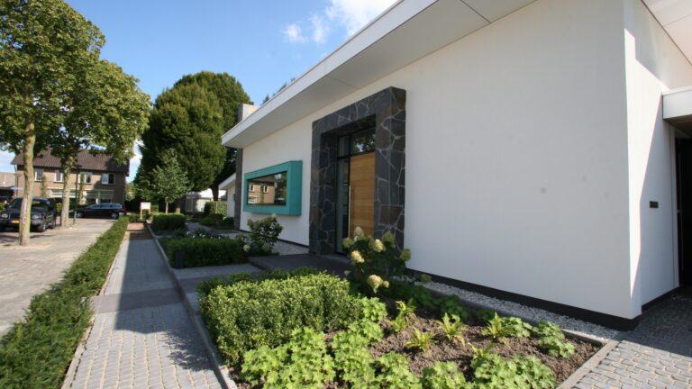 Flagstone toegang villa.
