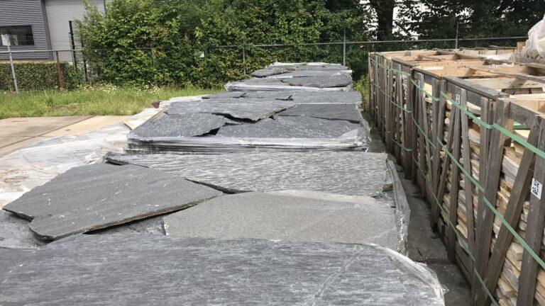 Flagstone Kleansis huidige pallets.