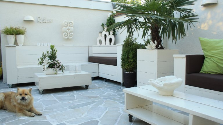 Brasil White - Flagstones.