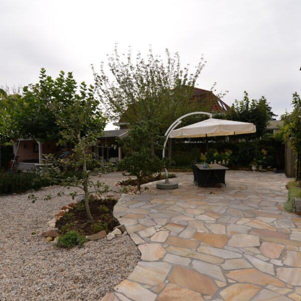 Flagstones voor tuin en tuinpaden