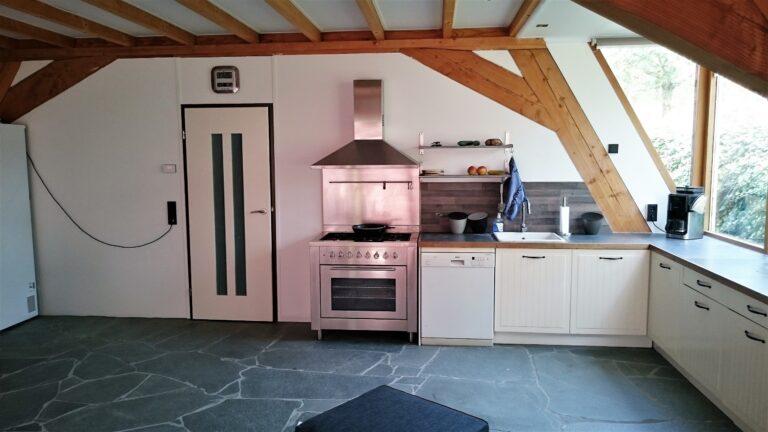 Flagstones Alta in de keuken.