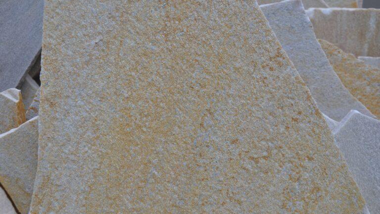 Flagstones detail kwartsietgesteente.