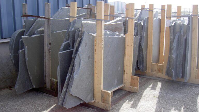 Flagstones grote scherven - Alta Kwartsiet Roofing.