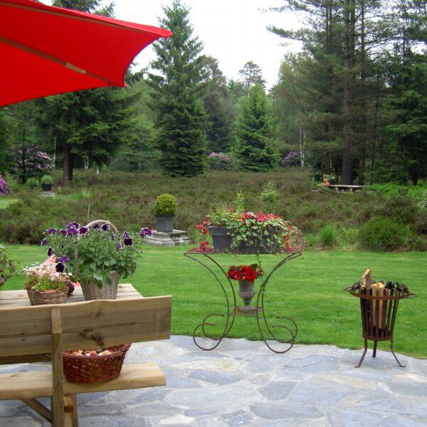 Flagstones in de Natuurlijke Tuin - Natuursteen.