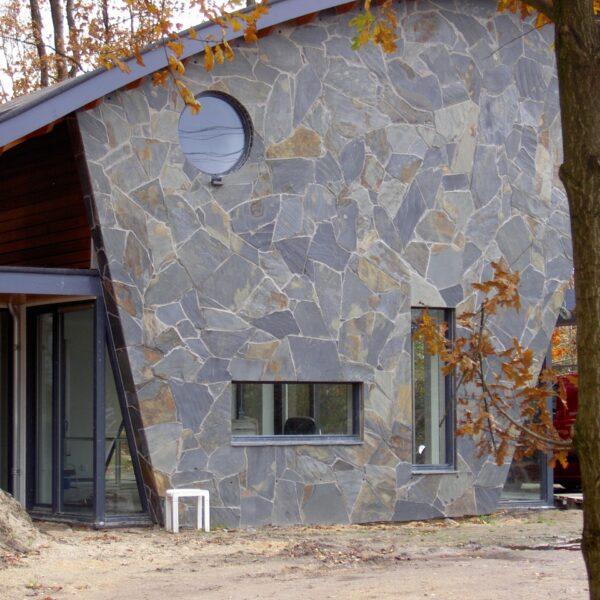 Flagstone Natuursteen moderne toepassing.