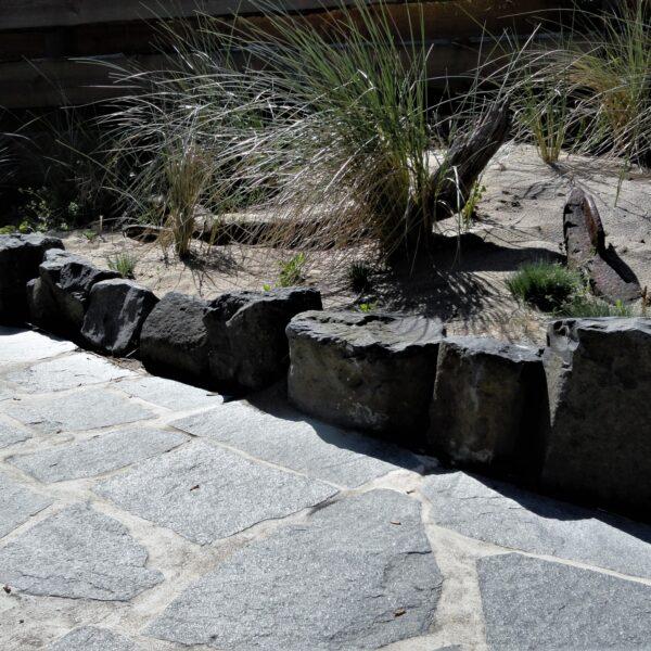 Flagstones achtertuin