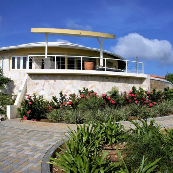 Flagstones Nederlandse Antillen - Huis Bonaire - Foto Copyright: Monte Mare.