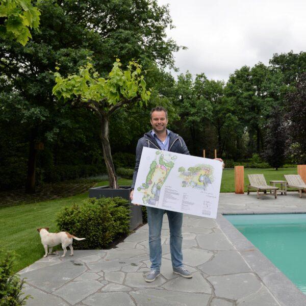 Flagstones Alta Kwartsiet, een project uitgevoerd door PenP Groenprojecten.