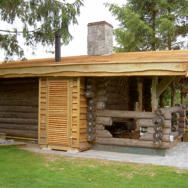 Flagstones Sauna Swoll - buitensauna.