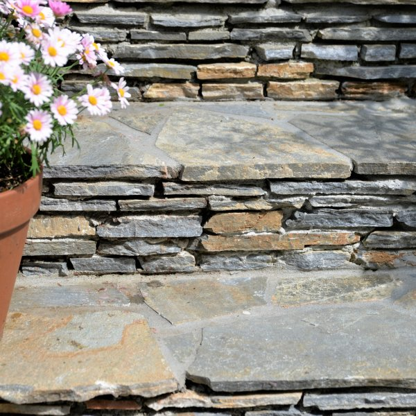 Spaanse trap met Flagstones - The Flagstone Company