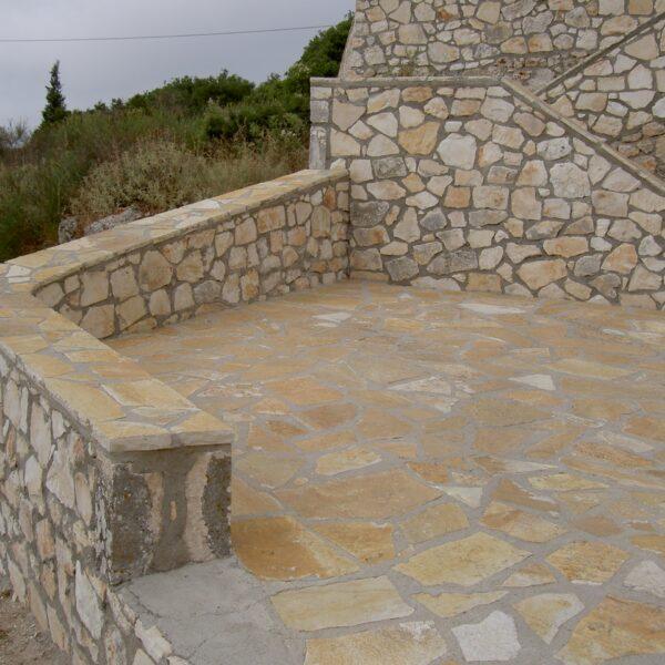 Flagstones Mediterrane uitstraling - buitenland