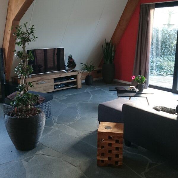 Flagstones Alta Kwartsiet woonkamer - geplaatst door Alex Koppelman.