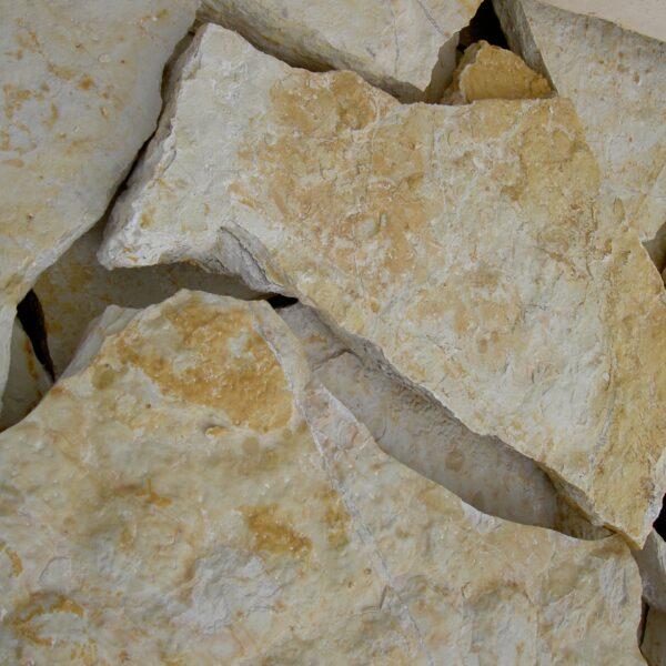 Bourgogne Geel Flagstones voor vloeren en muren.