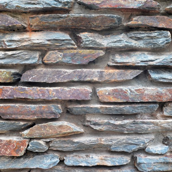Gestapelde Stenen Muren.