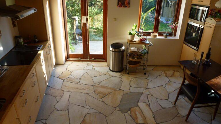 Flagstone vloer. XL-formaat.
