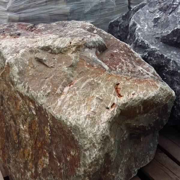 Grote zwerfsteen Grauwacke