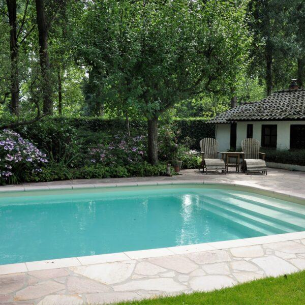 Zwembad bestrating Flagstones