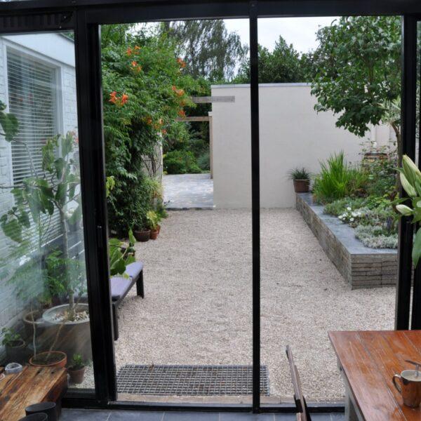 Flagstone terrassen.