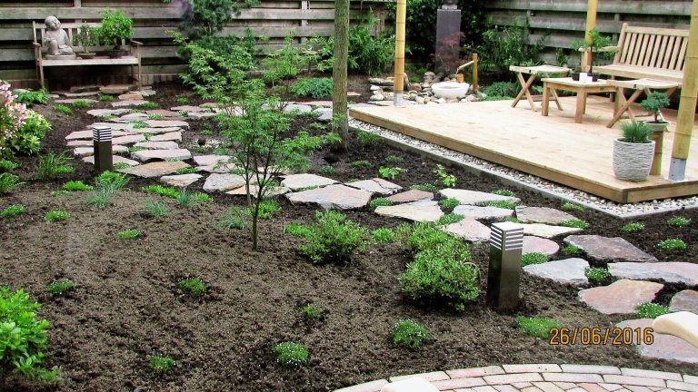 Flagstones - Stapstenen Japanse Tuin