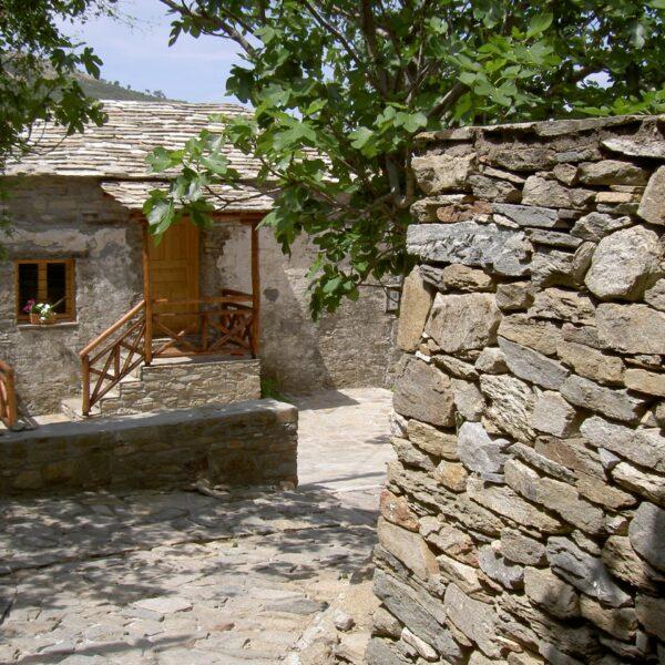 Natuurstenen daken, muren en vloeren