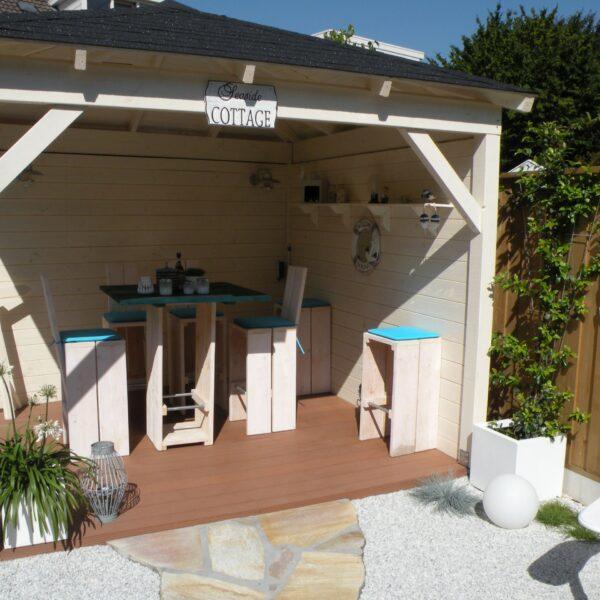 Flagstones veranda