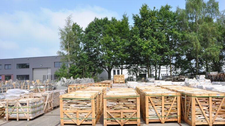 Flagstones pallets - direct uit voorraad leverbaar.
