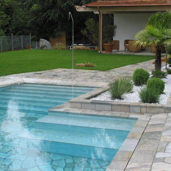 Flagstone zeer geschikt voor Zwembaden.