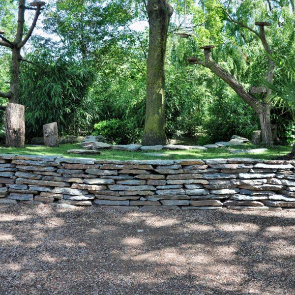Natuurlijke tuinmuren - Violetto Flagstones - Avifauna.