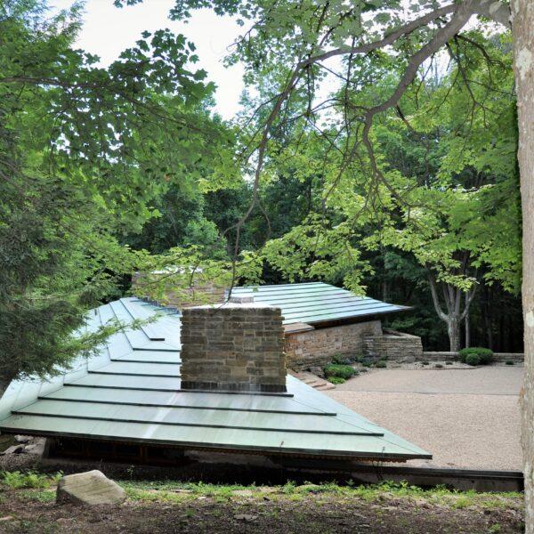 Kentuck Knob - Frank Lloyd Wright - Natuurstenen en Flagstones.