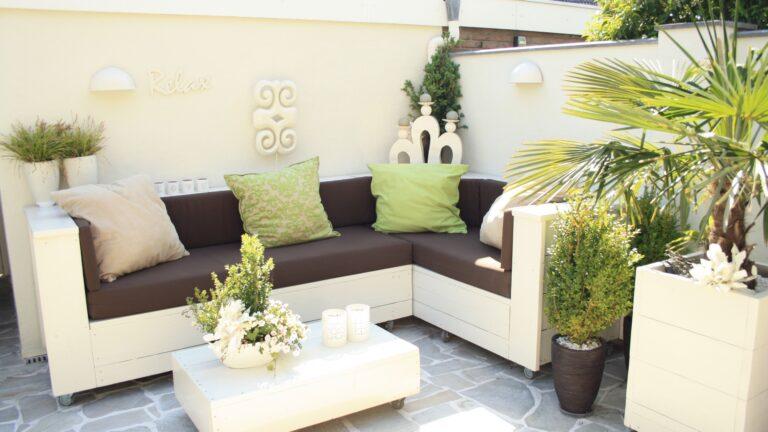 Brasil White - Flagstones, sterke kwaliteit. Ibiza-stijl.
