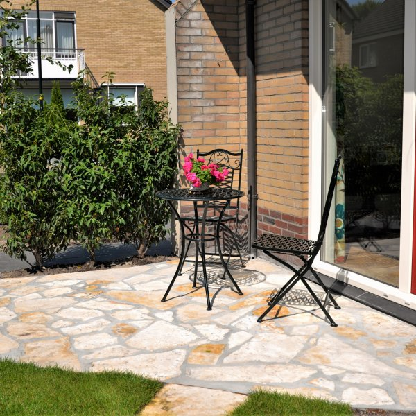 Flagstones Yellow Salig - zithoek