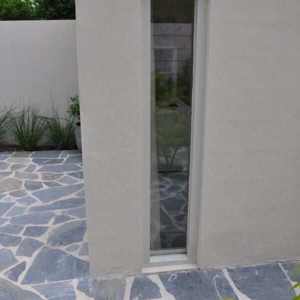 Flagstone terras architectuur
