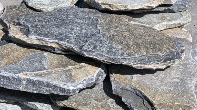 Losse stapstenen van natuursteen