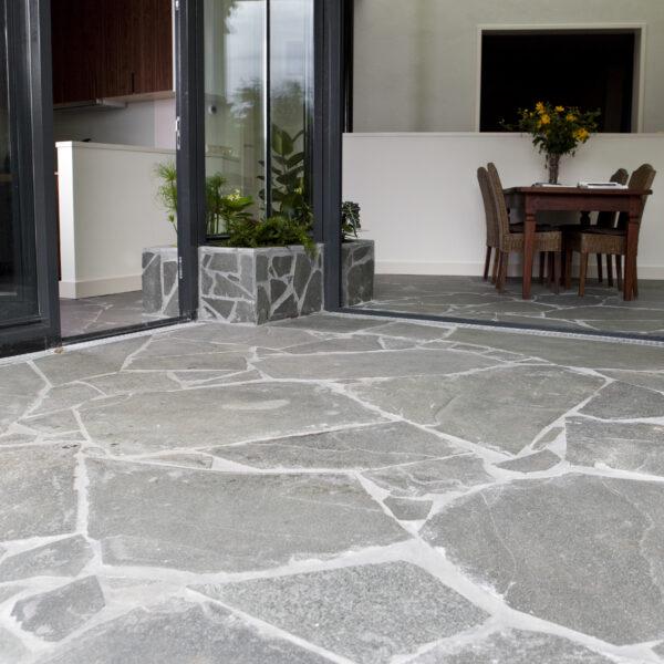 Flagstone vloer