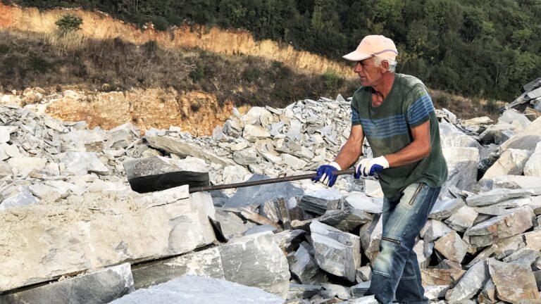 Flagstones groeve