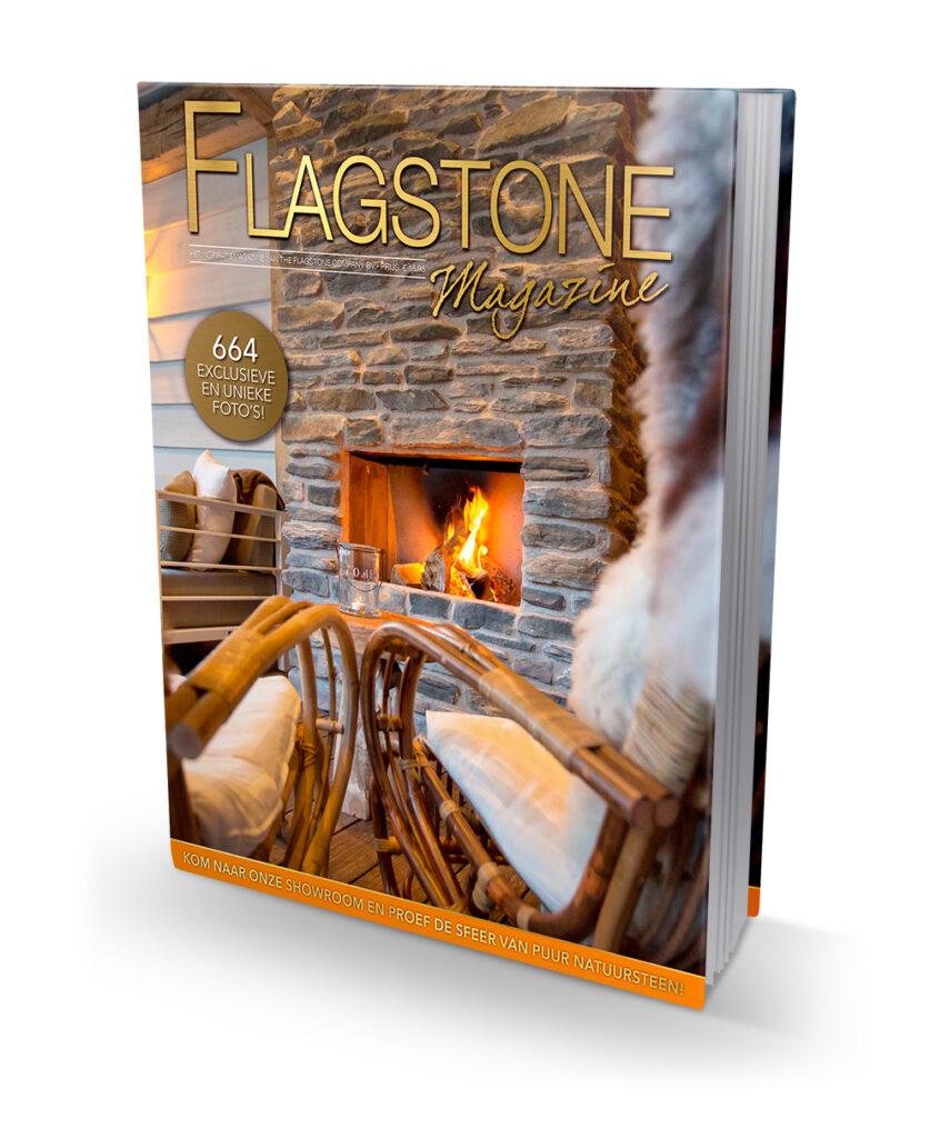 Het Flagstone Magazine kunt u kosteloos aanvragen