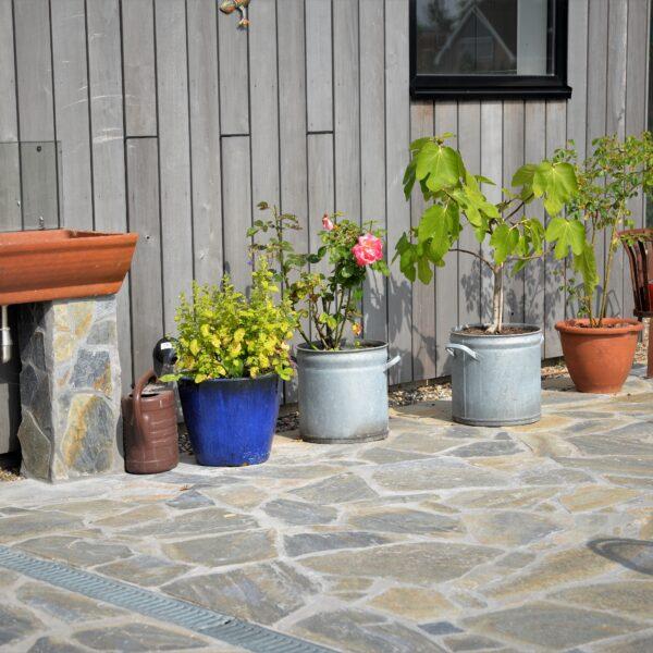 Mediterrane terrassen zoals in Frankrijk