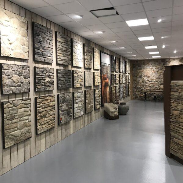 Vernieuwde showroom