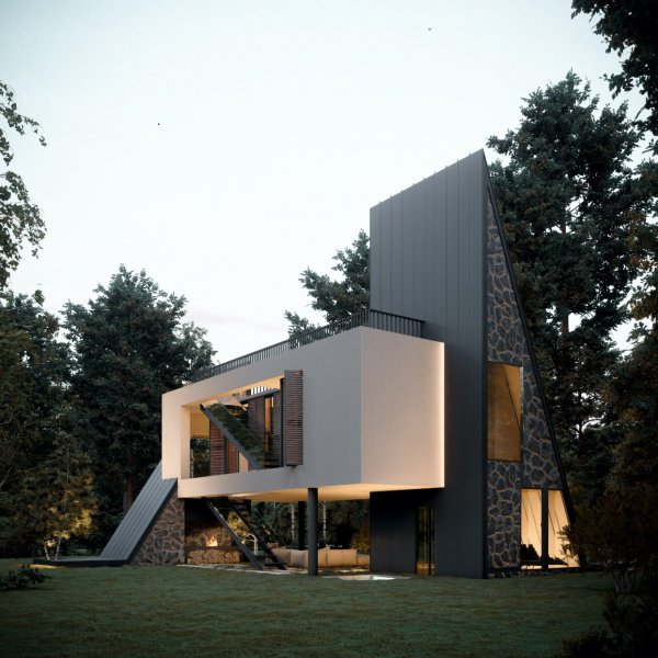Architect - Aran Architecture, Reza Javadzadeh   Visualisatie - Mostafa Hajizade   Amazingarchitecture.com